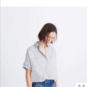 Madewell Flannel Courier Shirt NWT - XXS